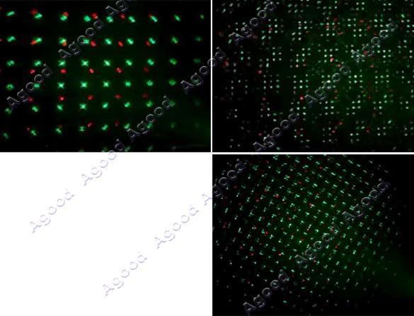 Green & Red Color Laser Stage Lighting Light DJs Party Show