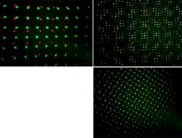 Green & Red Color Laser Stage Lighting DJs Party Light Show