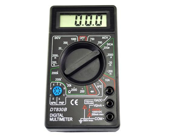 How Do You Read Ohmmeter : Ohmmeter how to use an voltmeter schematic